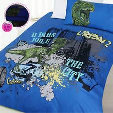 Dinosaur Double Duvet Glow In The Dark Bedding Ebay