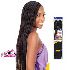 show pix of braid medium box braids freetress synthetic hair crochet braid