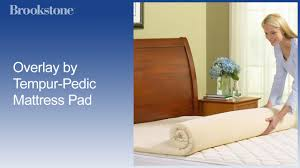 Cooling Mattress Pad For Tempurpedic Tempurpedic Mattress Topper Youtube