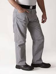 pantalon de cuisine homme pantalon de cuisine étiqueté robur panoplee