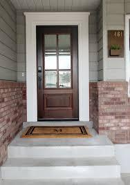 all glass front door best 25 front door trims ideas on pinterest exterior door trim