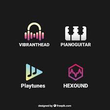 imagenes logos musicales colección de logos musicales descargar vectores gratis