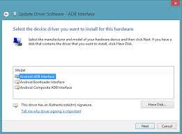 android adb driver proper way to setup adb fastboot drivers for nexus oneplus