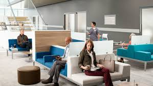 Health Spaces Transition Waiting Steelcase - Home health care furniture
