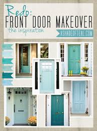 redo front door inspiration aqua blue front doors and teal
