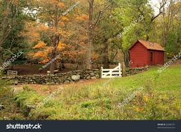 scenic landscape old country style farm stock photo 20396737