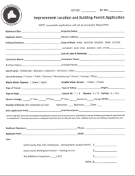 application scott county area plan commission