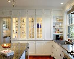 10 Beautiful Kitchens With Glass Cabinets Beautiful Kitchen Wall Cabinets With Glass Doors Kls7760715948