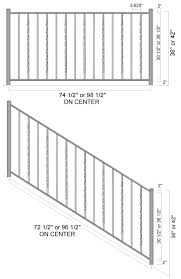 Irc Handrail Requirements Aluminum Railing Systems