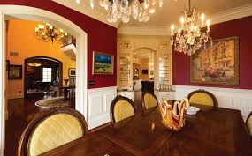 Traditional Dining Room With Chandelier By Padgett Construction - Traditional dining room chandeliers