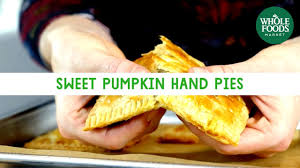 sweet pumpkin hand pies freshly made whole foods market youtube