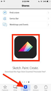 get procreate free the amazing painting app for iphone