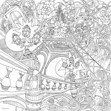 amazon com the magical city a colouring book magical colouring