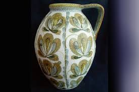 Denby Vase Pottery Derbyshire Antiques Country Images Magazine