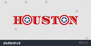 Houston City Flag Image Relative Usa Travel Houston City Stock Illustration