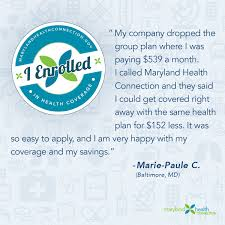 real life stories maryland health connection