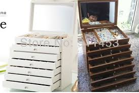 necklace storage organizer images White jewelry box jewelry box large jewelry box jewelry box jpg