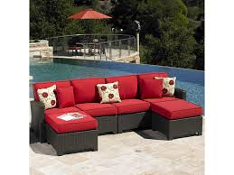 Patio Sectional Sofa Northcape International Cabo Contemporary Outdoor Sectional