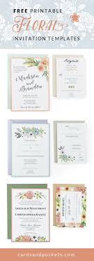 create invitations best 25 free invitation templates ideas on diy
