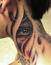 Tattoo On Neck Ideas Eye Tattoos Designs And Ideas Page 63