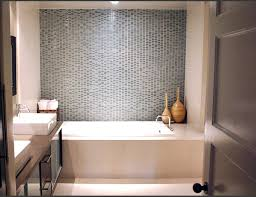 Bathroom Subway Tile Designs Love The Subway Tile Graphic Patterned Floor And Gray Paint Small