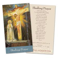 prayer cards healing prayer card of grace usa