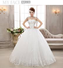 wedding dress version diamond bridal wedding dress korean version of the new 2015