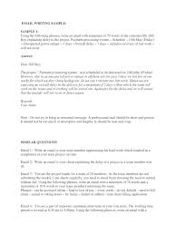 Business Email To Client Sample by Download Business Email Writing Docshare Tips