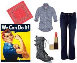 Rosie Riveter Halloween Costume Diy 5 Quick Halloween Costumes
