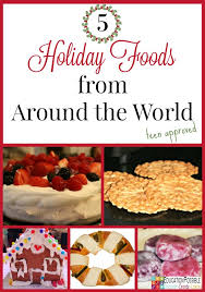 5 foods from around the world your will enjoy
