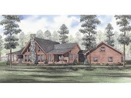 rustic log house plans evans hollow rustic log home plan 073d 0046 house plans and more