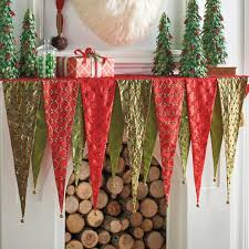 pretentious mantel scarves homey inspiration kringle scarf