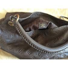 louis vuitton artsy mm bag louis vuitton shoulder bag artsy mm étoupe leather ref a99350