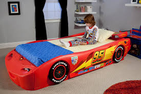 Car Bed Frames Delta Children Cars Lightning Mcqueen Bed With