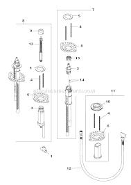 parts of a bathtub faucet delta faucet r4707 parts list and diagram ereplacementparts com