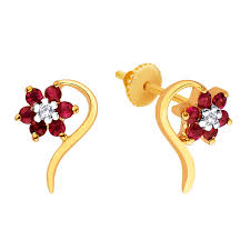 gold earring design with price gold earrings designs with weight and price diamondstud