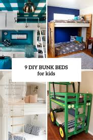 Diy Bunk Bed 9 Functional And Creative Diy Bunk Beds For Shelterness