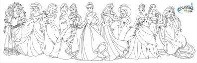 coloring princes disney all disney princes coloring pages disney