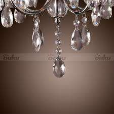 Chandeliers For Sale Uk by Modern Chandelier Crystal Droplet Pendant Ceiling Light 4 Lamps