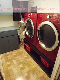 Pedestal Washing Machine Project Pinterest Homemade He Washer And Dryer Pedestals The