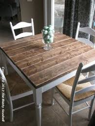 shabby chic rustic farmhouse solid 8 seater dining table bench and