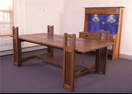 custom made dining table f l wright mackintosh fine furniture
