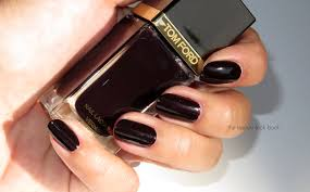 tom ford beauty black cherry nail lacquer fall 2014 the beauty