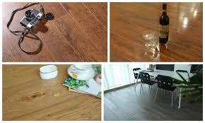 residential light brown european oak wire brushed wooden flooring