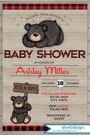 Panda Baby Shower Invitations - baby shower invitation it u0027s a boy baby shower invitation