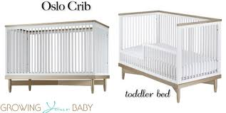 ducduc for nod oslo crib toddler bed conversion growing your baby