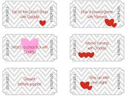 redfly creations valentine coupon book for kids