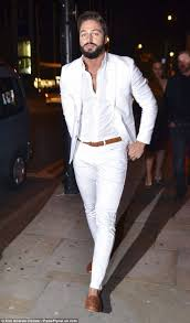 mens white party outfit best 25 all white mens outfit ideas on