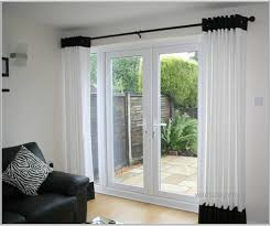image of window treatments for sliding glass doors pictures