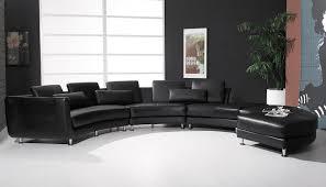 Modern Leather Sofa Black Best Modern Sectional Sofa